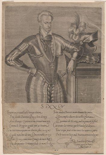 Henry III. Sitter: Henry III of France, 1551 – 1589. Date: 1580s. Record ID: npg_S_NPG.69.8.