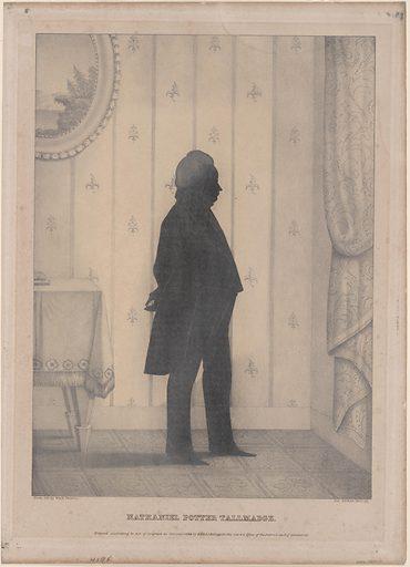Nathaniel Potter Tallmadge. Sitter: Nathaniel Pitcher Tallmadge, 8 Feb 1795 – 2 Nov 1864. Date: 1830s. Record ID: npg_S_NPG.70.9.