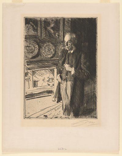 Henry Gurdon Marquand. Sitter: Henry Gurdon Marquand, 11 Apr 1819 – 26 Feb 1902. Date: 1890s. Record ID: npg_NPG.95.38.