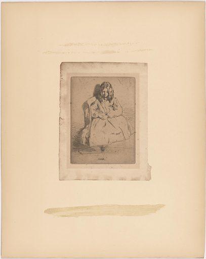 Annie Harriet Haden. Sitter: Annie Harriet Haden, 14 Dec 1848 – 1937. Date: 1850s. Record ID: npg_S_NPG.97.11.