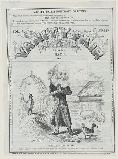 William Cullen Bryant. Sitter: William Cullen Bryant, 3 Nov 1794 – 12 Jun 1878. Date: 1860s. Record ID: npg_NPG.78.223.