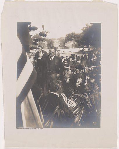 Theodore Roosevelt. Sitter: Theodore Roosevelt, 27 Oct 1858 – 6 Jan 1919. Date: 1900s. Record ID: npg_NPG.81.124.