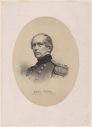 John Ellis Wool. Sitter: John Ellis Wool, 29 Feb 1784 – 10 Nov 1869. Date: 1880s. Record ID: npg_NPG.82.169.