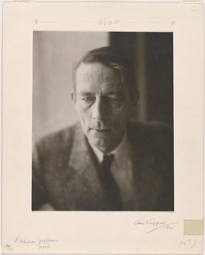Robinson Jeffers. Sitter: Robinson Jeffers, 10 Jan 1887 – 20 Jan 1962. Date: 1940s. Record ID: npg_NPG.82.186.
