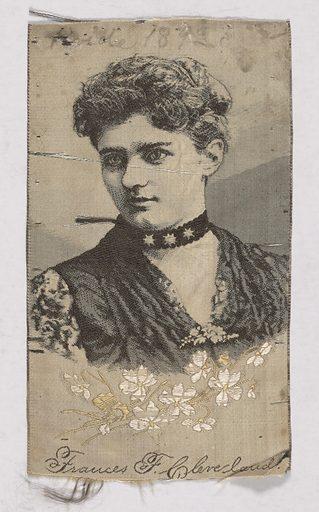 Frances Folsom Cleveland. Sitter: Frances Folsom Cleveland, 21 Jul 1864 – 29 Oct 1947. Date: 1880s. Record ID: npg_S_NPG.93.137.
