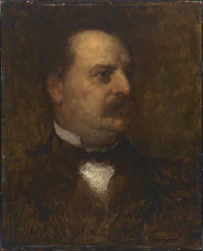 Grover Cleveland. Sitter: Stephen Grover Cleveland, 18 Mar 1837 – 24 Jun 1908. Date: 1880s. Record ID: npg_NPG.71.58.