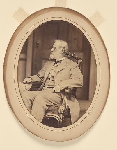 Robert E. Lee. Sitter: Robert Edward Lee, 19 Jan 1807 – 12 Oct 1870. Date: 1880s. Record ID: npg_NPG.78.243.