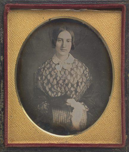 Julia Catherine Seymour Conkling. Sitter: Julia Catherine Seymour Conkling, c. 1825 – ? Date: 1840s. Record ID: npg_S_NPG.95.102.