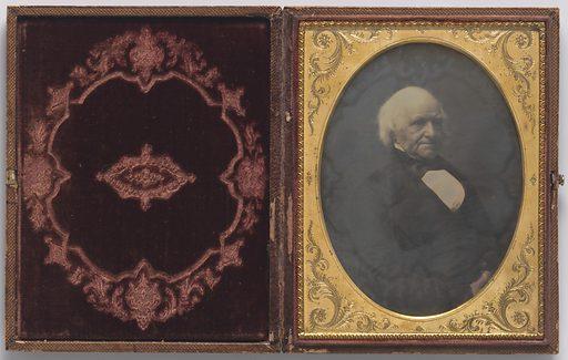 Martin Van Buren. Sitter: Martin Van Buren, 5 Dec 1782 – 24 Jul 1862. Date: 1840s. Record ID: npg_NPG.76.104.