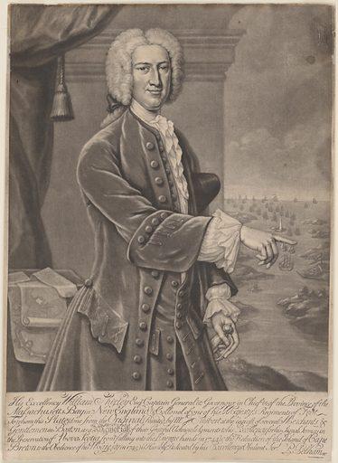 William Shirley. Sitter: William Shirley, 1694 – 24 Mar 1771. Date: 1740s. Record ID: npg_NPG.75.80.