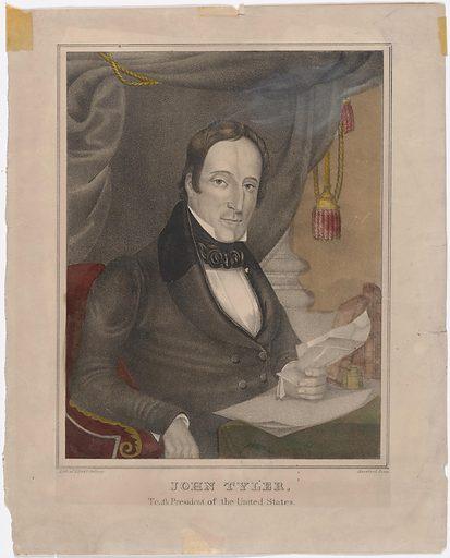John Tyler. Sitter: John Tyler, 29 Mar 1790 – 18 Jan 1862. Date: 1830s. Record ID: npg_NPG.89.174.
