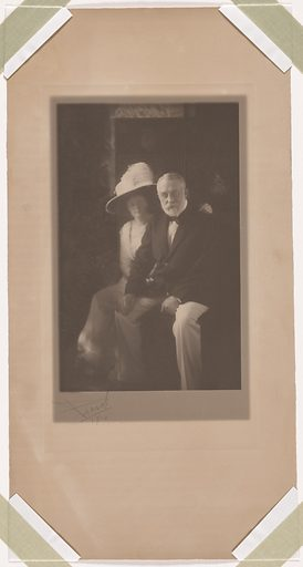Henry Clay Frick and his Daughter Helen. Sitters: Henry Clay Frick, 19 Dec 1849 – 2 Dec 1919; Helen Clay Frick, 2 Sep 1888 – Nov 1984. Date: 1910s. Record ID: npg_NPG.92.30.
