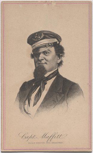 John Newland Maffitt. Sitter: John Newland Maffitt, 22 Feb 1819 – 15 May 1886. Date: 1880s. Record ID: npg_S_NPG.84.413.