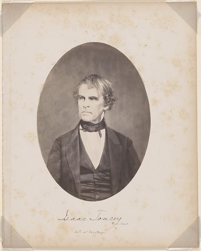 Isaac Toucey. Sitter: Isaac Toucey, 15 Nov 1792 – 30 Jul 1869. Date: 1850s. Record ID: npg_S_NPG.87.42.5.