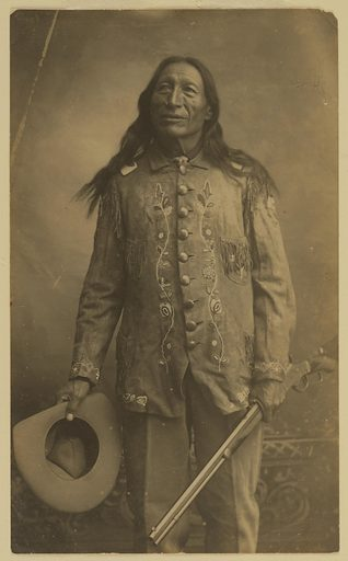 Iron Tail. Sitter: Iron Tail. Date: 1900s. Record ID: npg_S_NPG.81.11.