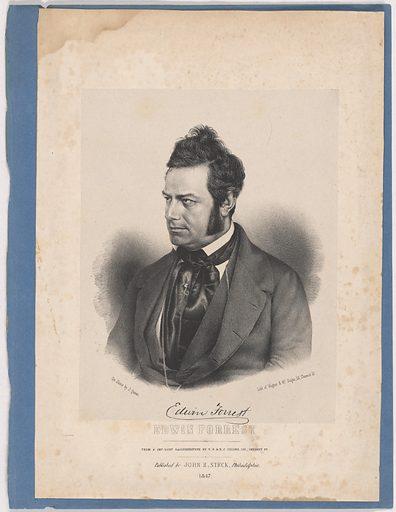 Edwin Forrest. Sitter: Edwin Forrest, 9 Mar 1806 – 12 Dec 1872. Date: 1840s. Record ID: npg_NPG.94.2.