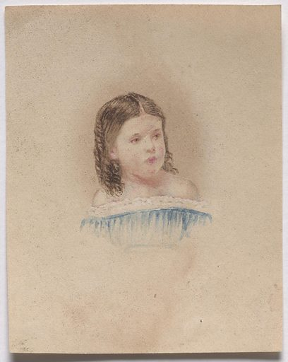 Sarah Meade. Sitter: Sarah Meade, 1855 – 1936. Date: 1850s. Record ID: npg_S_NPG.85.260.