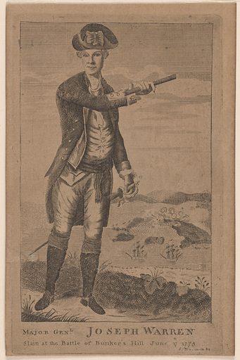 Joseph Warren. Sitter: Joseph Warren, 11 Jun 1741 – 17 Jun 1775. Date: 1780s. Record ID: npg_S_NPG.77.103.