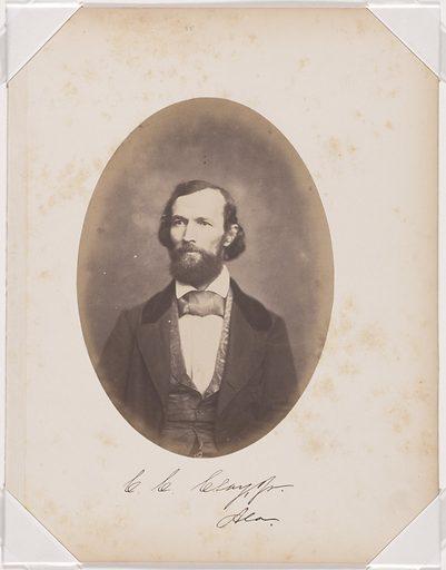 Clement Claiborne Clay, Jr. Sitter: Clement Claiborne Clay, Jr., 13 Dec 1816 – 03 Jan 1882. Date: 1850s. Record ID: npg_S_NPG.87.42.22.