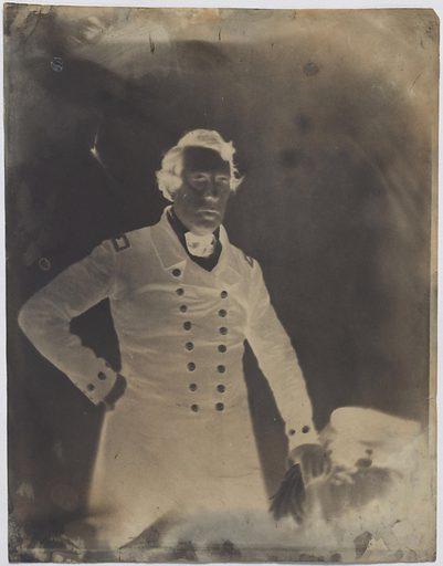 Matthew Calbraith Perry. Sitter: Matthew Calbraith Perry, 10 Apr 1794 – 4 Mar 1858. Date: 1840s. Record ID: npg_NPG.86.165.