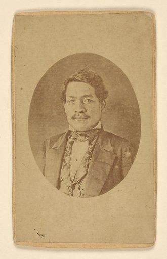Kauikeouli. Sitter: Kauikeouli, c. 1813 – 1854. Date: 1840s. Record ID: npg_NPG.80.313.