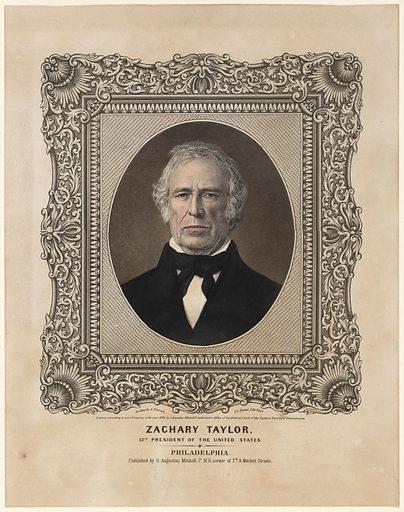 Zachary Taylor. Sitter: Zachary Taylor, 24 Nov 1784 – 9 Jul 1850. Date: 1840s. Record ID: npg_NPG.85.53.