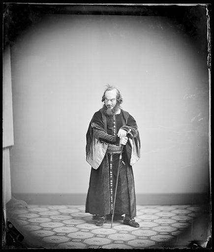 Edwin Forrest. Sitter: Edwin Forrest, 9 Mar 1806 – 12 Dec 1872. Date: 1860s. Record ID: npg_NPG.88.102.