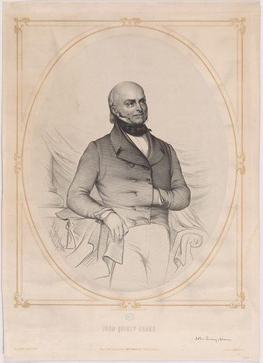 John Quincy Adams. Sitter: John Quincy Adams, 11 Jul 1767 – 23 Feb 1848. Date: 1850s. Record ID: npg_NPG.95.39.