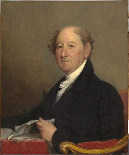 Rufus King. Sitter: Rufus King, 24 Mar 1755 – 29 Apr 1827. Date: 1810s. Record ID: npg_NPG.88.1.