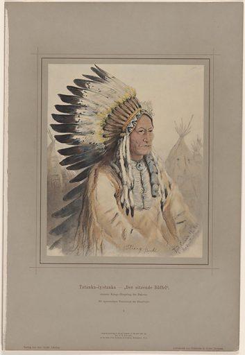 Sitting Bull. Sitter: Sitting Bull, c. 1831 – 15 Dec 1890. Date: 1880s. Record ID: npg_NPG.77.277.