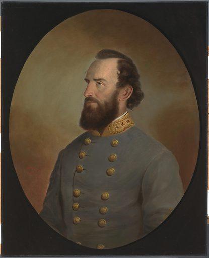 Stonewall Jackson. Sitter: Thomas Jonathan Jackson, 21 Jan 1824 – 10 May 1863. Date: 1880s. Record ID: npg_NPG.96.133.
