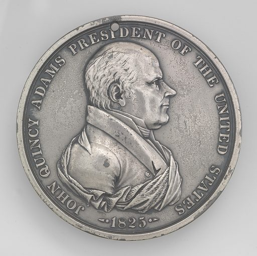 John Quincy Adams. Sitter: John Quincy Adams, 11 Jul 1767 – 23 Feb 1848. Date: 1820s. Record ID: npg_NPG.69.79.