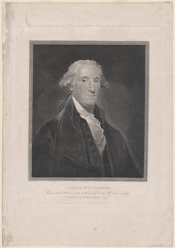 George Washington. Sitter: George Washington, 22 Feb 1732 – 14 Dec 1799. Date: 1790s. Record ID: npg_NPG.79.139.