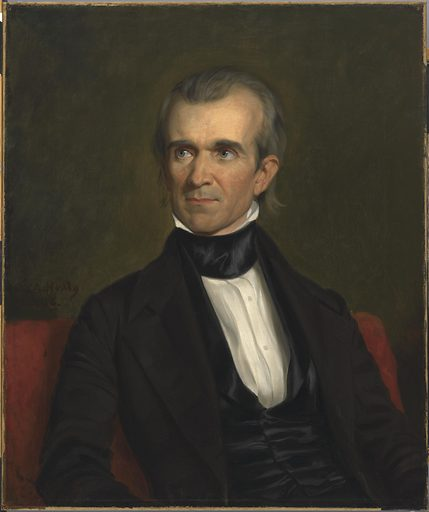 James Knox Polk. Sitter: James Knox Polk, 2 Nov 1795 – 15 Jun 1849. Date: 1840s. Record ID: npg_NPG.2019.14.