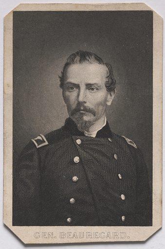 Pierre Gustave Toutant Beauregard. Sitter: Pierre Gustave Toutant Beauregard, 28 May 1818 – 20 Feb 1893. Date: 1880s. Record ID: npg_S_NPG.84.392.