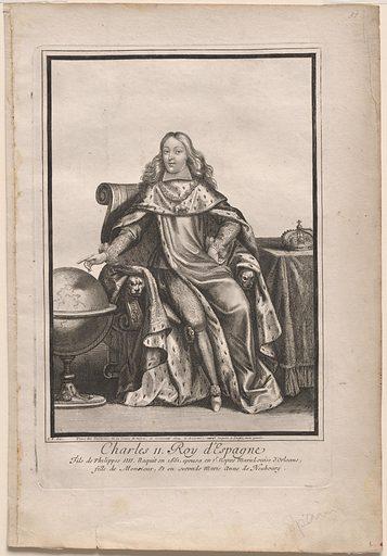 Charles II. Sitter: King Charles II of Spain, 1661 – 1700. Record ID: npg_S_NPG.69.12.