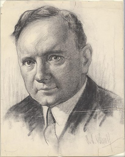 Harry F. Byrd. Sitter: Harry Flood Byrd, 10 Jun 1887 – 20 Oct 1966. Date: 1920s. Record ID: npg_NPG.88.TC88.