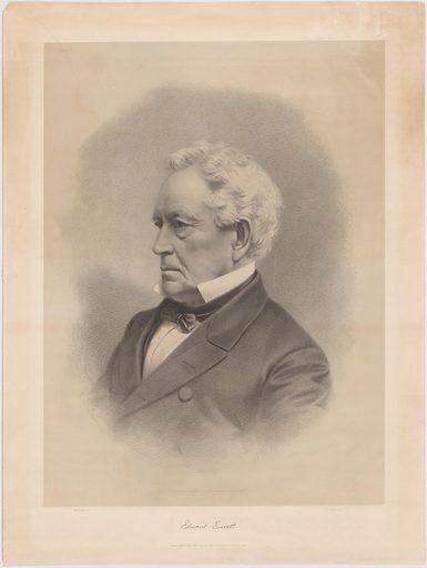 Edward Everett. Sitter: Edward Everett, 11 Apr 1794 – 15 Jan 1865. Date: 1860s. Record ID: npg_NPG.80.238.
