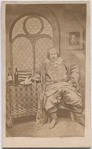"""The Justice from Shakespeare's """"Seven Ages"""" of Man. Date: 1850s. Record ID: npg_S_NPG.85.294.E."""