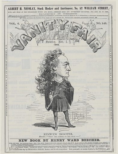 Edwin Thomas Booth. Sitter: Edwin Thomas Booth, 13 Nov 1833 – 7 Jun 1893. Date: 1860s. Record ID: npg_NPG.78.225.