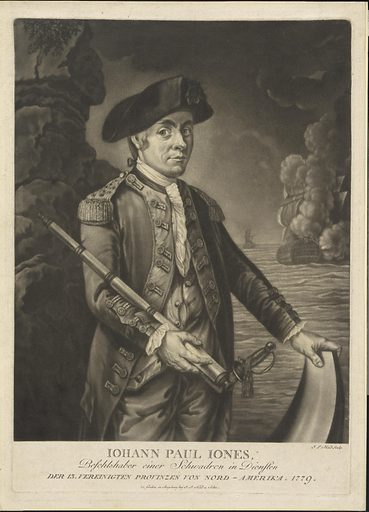 John Paul Jones. Sitter: John Paul Jones, 6 Jul 1747 – 18 Jul 1792. Date: 1770s. Record ID: npg_NPG.67.54.