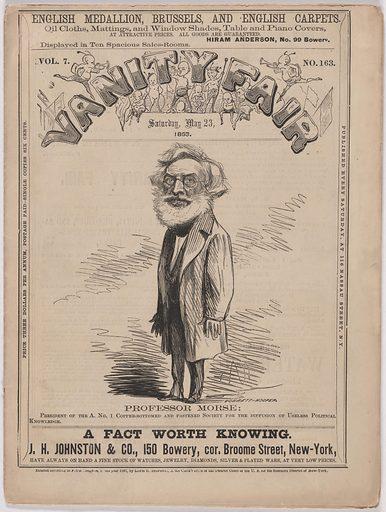 Samuel F. B. Morse. Sitter: Samuel Finley Breese Morse, 27 Apr 1791 – 2 Apr 1872. Date: 1860s. Record ID: npg_NPG.86.13.