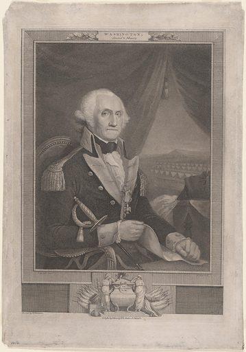 George Washington. Sitter: George Washington, 22 Feb 1732 – 14 Dec 1799. Date: 1800s. Record ID: npg_NPG.92.28.
