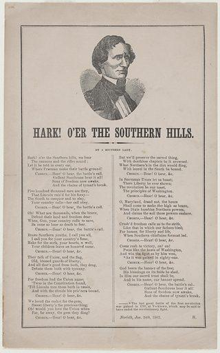 Jefferson Davis. Sitter: Jefferson Davis, 3 Jun 1808 – 6 Dec 1889. Date: 1860s. Record ID: npg_NPG.84.356.