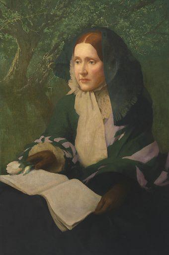 Julia Ward Howe. Sitter: Julia Ward Howe, 27 May 1819 – 17 Oct 1910. Date: 1920s. Record ID: npg_NPG.65.31.