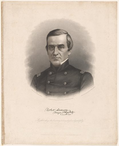 Robert Anderson. Sitter: Robert A. Anderson, 14 Jun 1805 – 26 Oct 1871. Date: 1880s. Record ID: npg_NPG.82.39.