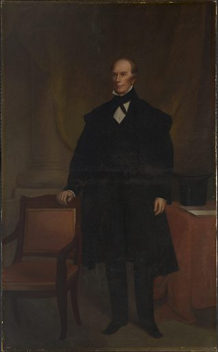 Henry Clay. Sitter: Henry Clay, 12 Apr 1777 – 29 Jun 1852. Date: 1840s. Record ID: npg_NPG.77.12.