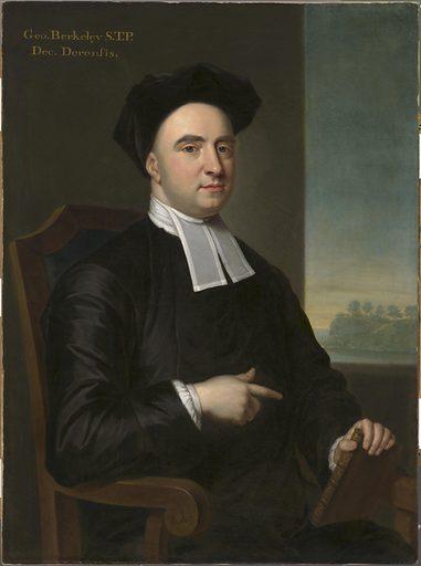 Bishop George Berkeley. Sitter: Bishop George Berkeley, 12 Mar 1685 – 14 Jan 1753. Date: 1720s. Record ID: npg_NPG.89.25.