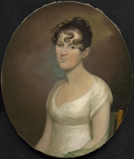Elizabeth Washington Gamble Wirt. Sitter: Elizabeth Washington Gamble Wirt, 30 Jan 1784 – 24 Jan 1857. Date: 1800s. Record ID: npg_S_NPG.89.12.
