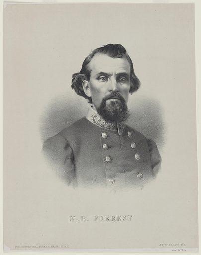 Nathan Bedford Forrest. Sitter: Nathan Bedford Forrest, 13 Jul 1821 – 29 Oct 1877. Date: 1880s. Record ID: npg_S_NPG.79.16.